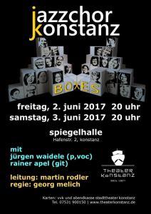Plakat BOXES 2017